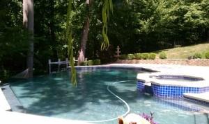 Pool Land Grading