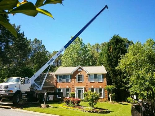 Sharp Tree Service - Crane Tree Service