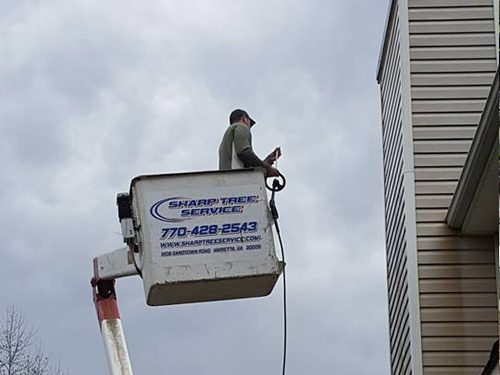 Sharp Tree Service - Crane Tree Service in Cumming