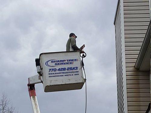 Sharp Tree Service - Crane Tree Service in Cumming