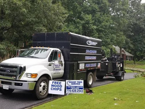Sharp Tree Service - Fleet Truck